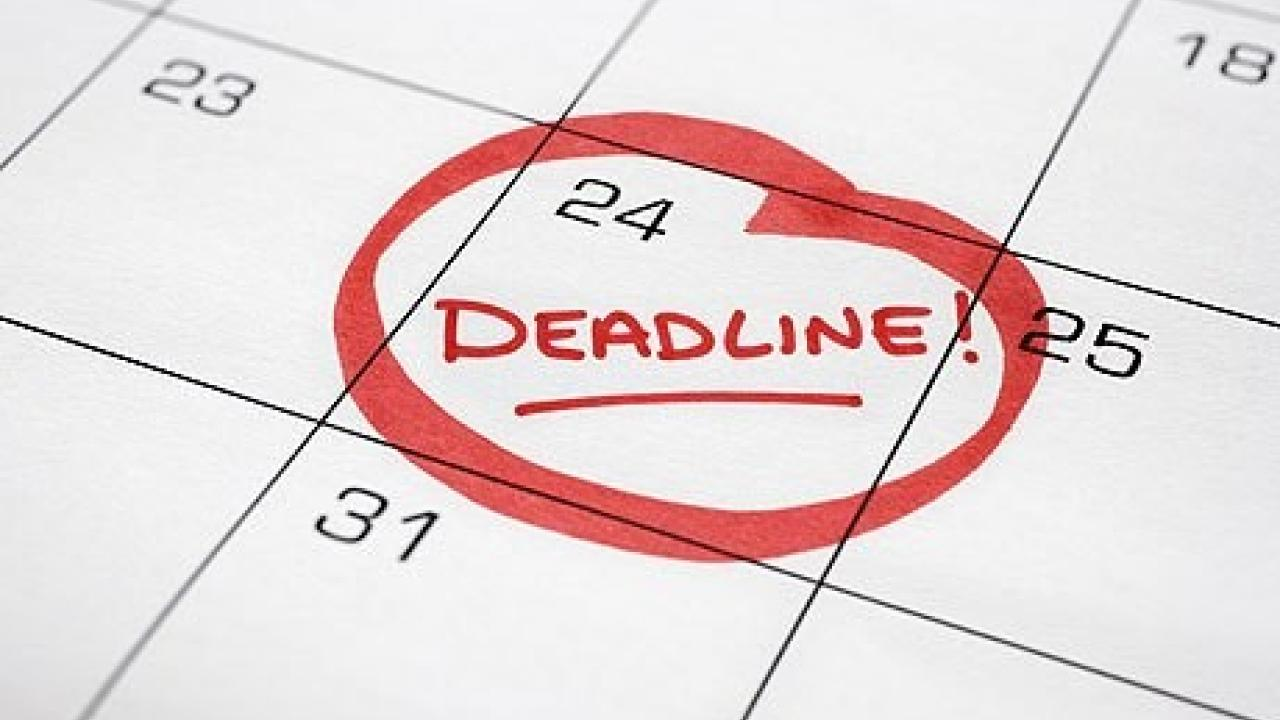 Deadline Calendar Icon