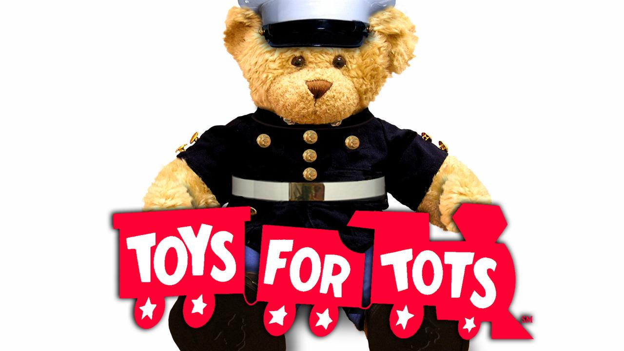 Toys For Tots Marine Bear : Mail services toys for tots drive supply chain management