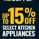 HD Supply 15% Off Kitchen Appliances