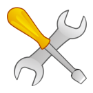 Picture of screwdriver and wrench